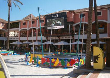 Площадка для детей в Plaza Mayor