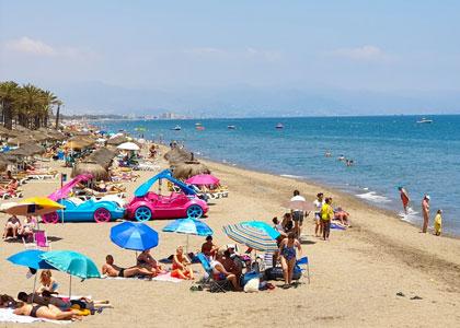 Пляж Торремолинос