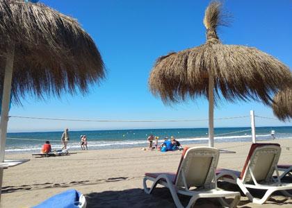 Пляж возле гостиницы Vincci Seleccion Estrella del Mar