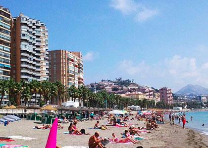 Пляжи в Малаге