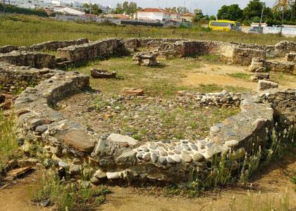 Руины римских бань в Vega del Mar