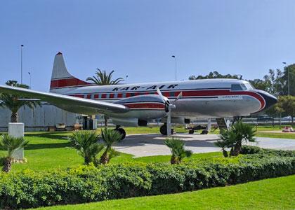 Самолет в музее аэропорта