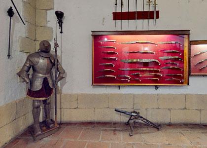 Старинное оружие в Museo Lara