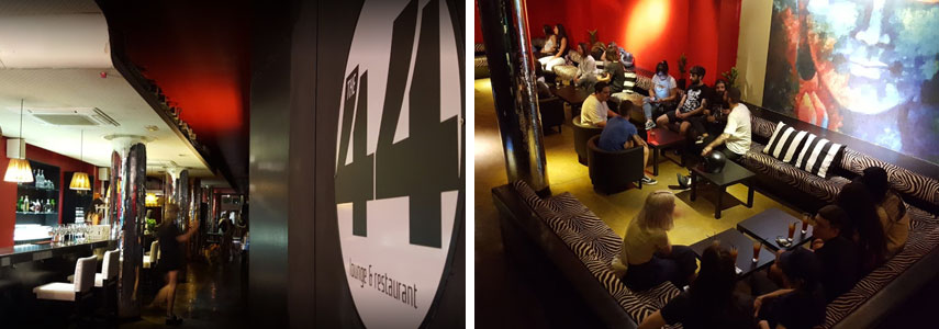The 44 lounge and restaurant