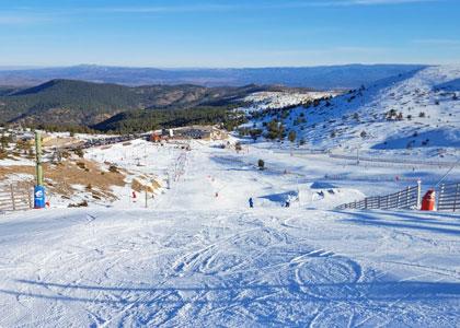 Трасса горнолыжного курорта Хаваламбре