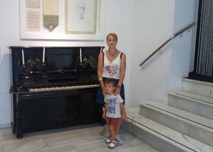 В интерактивном музее музыки