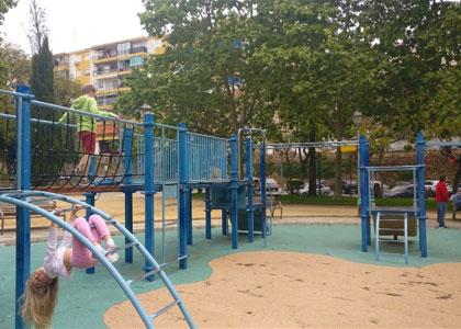 В парке Арройо-де-ла-Репреза