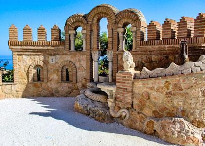 В замке Коломарес