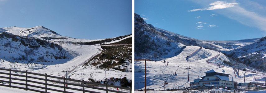 Курорт для горнолыжников Вальгранде-Пахарес