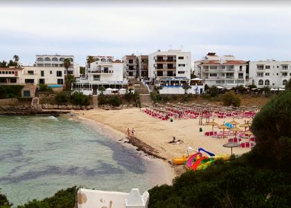 Вид Пляж Кала-Маршал