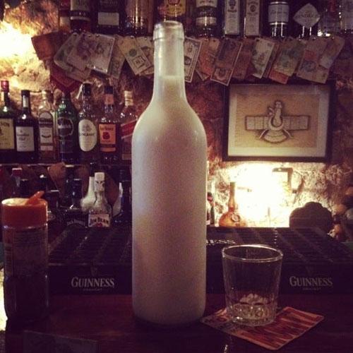 Фирменный напиток заведения – «Молоко пантеры» в Бар Avesta