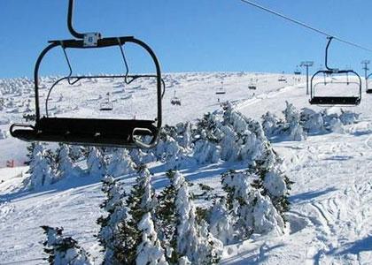Фуникулер на горнолыжном курорте Мансанеда