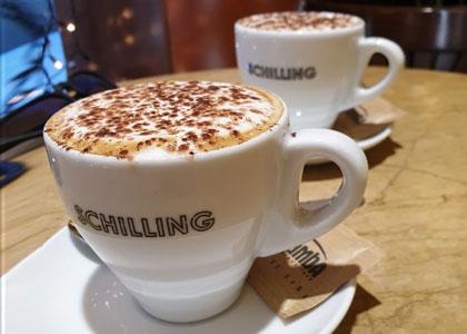 Кофе в баре Schilling