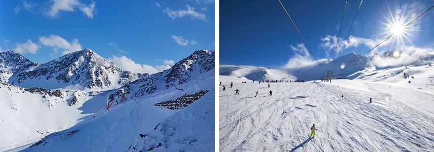 Курорт для горнолыжников Андорра