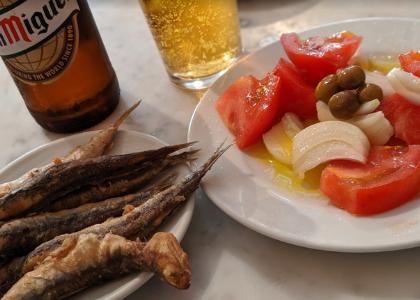 Тапас-бар La Plata закуски