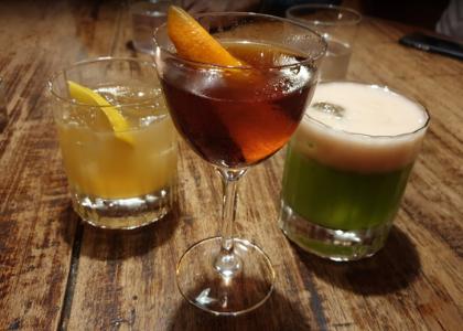 Бар La Confiteria разные напитки
