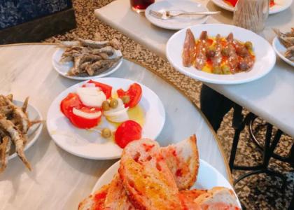 Тапас-бар La Plata еда