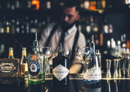 Old Fashioned джин тоник бар