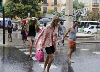 Дожди на Майорке