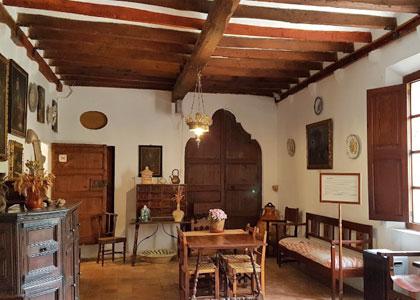 Комната в дом-музее Людвига Сальвадора