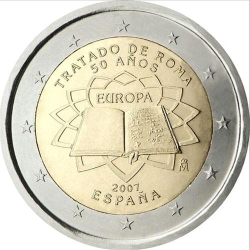 От 2007 г. <p> Посвященные 50-летию Римского договора;