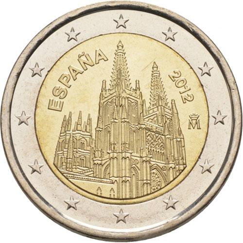 От 2012 г. <p> Изображающие кафедральный собор Бургоса;