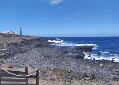 На пляже Charco El Ingles