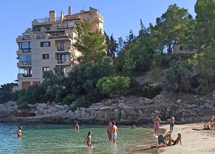 Пляж курорта Ильетас