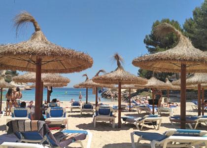 Пляж в Магалуф