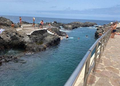 В бассейне El Caleton