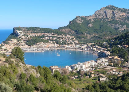 Вид на курорт Порт-де-Сольер