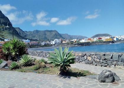 Вид на пляж Charco Juaniquin