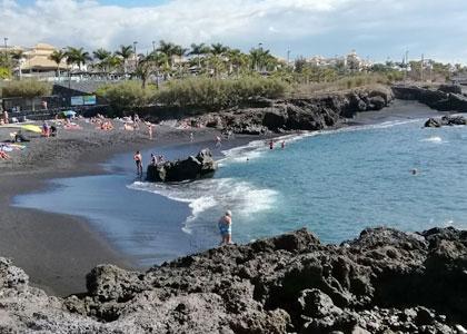 Вид на пляж La Jaquita