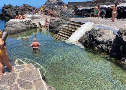 Вода в бассейне El Caleton