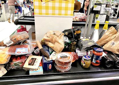 Закупка в супермаркете на Майорке