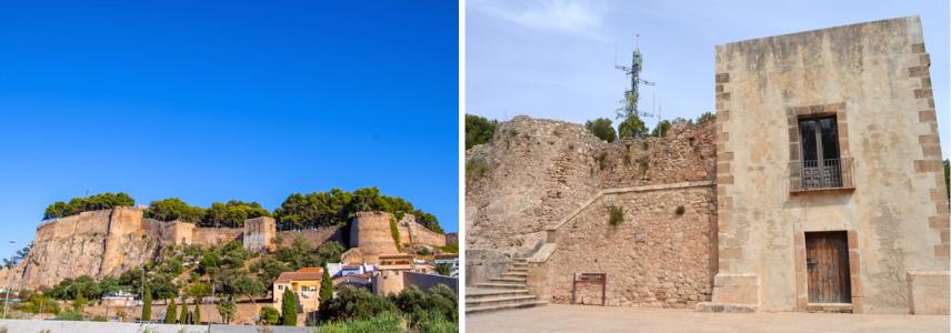 Castell de Dénia и музей