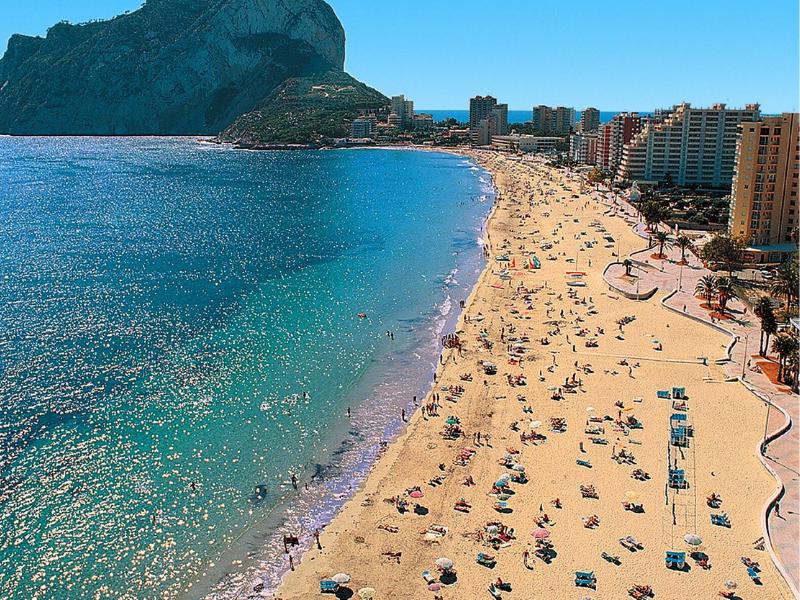 Пляжи Дении