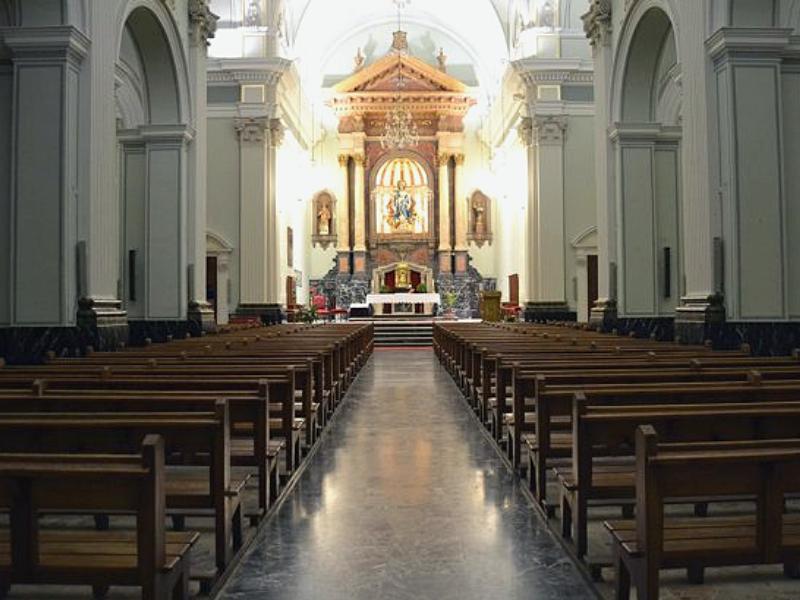 В церкви Асунсьон