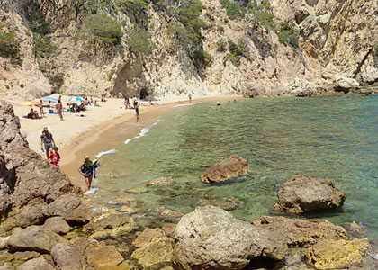 На пляже Кала-Футадера