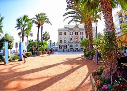 Набережная пляжа Lloret de Mar