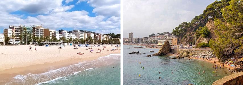 Пляж Lloret de Mar
