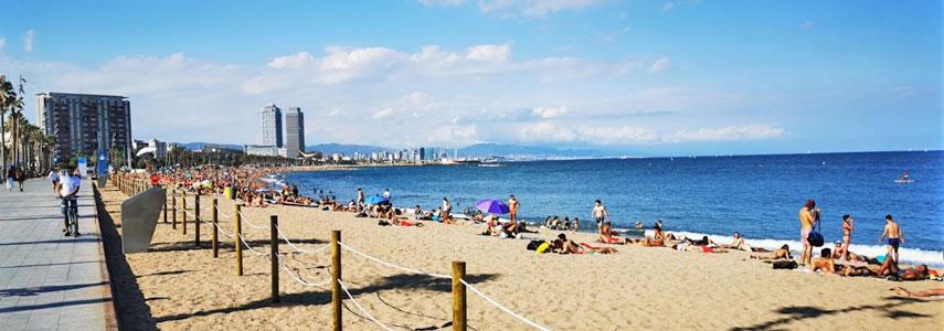 Пляж Сант-Себастиа