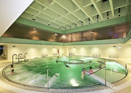 Бассейн в Hotel Balneario Elgorriaga