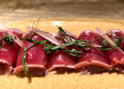 Блюдо в ресторане Abama Kabuki