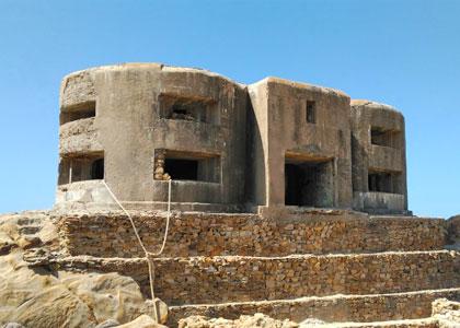 Бункер около пляжа Захара-де-лос-Атунес