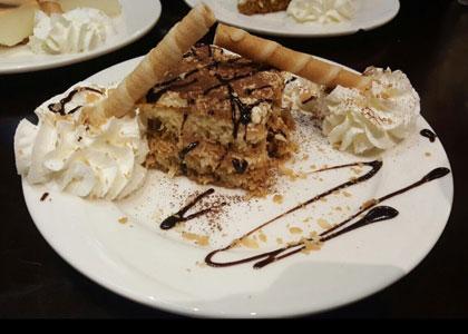 Десерт в ресторане Embrujo