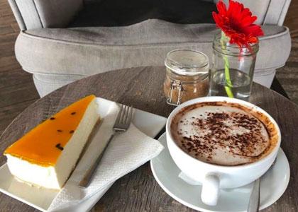 Десерт в ресторане La Sopa – Healthy Food
