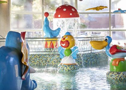Детский термальный бассейн в Balneario de Archena