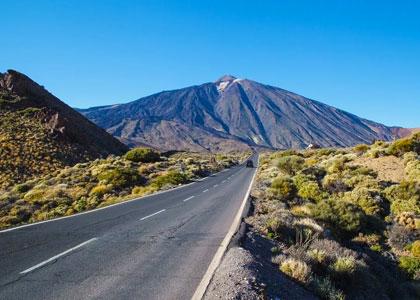 Дорога к вулкану Тейде