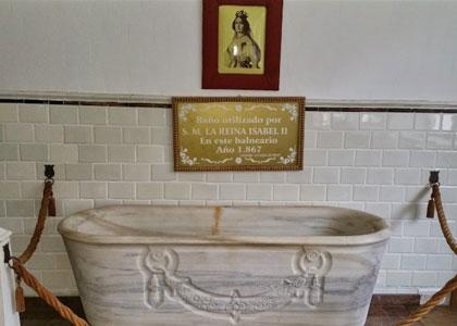 Именная ванна испанской королевы Изабеллы II